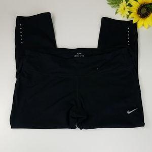 Nike Dri-Fit Crop Leggings Ladies Large
